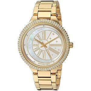 {Michael Kors} Tarynn Gold Watch MK6550